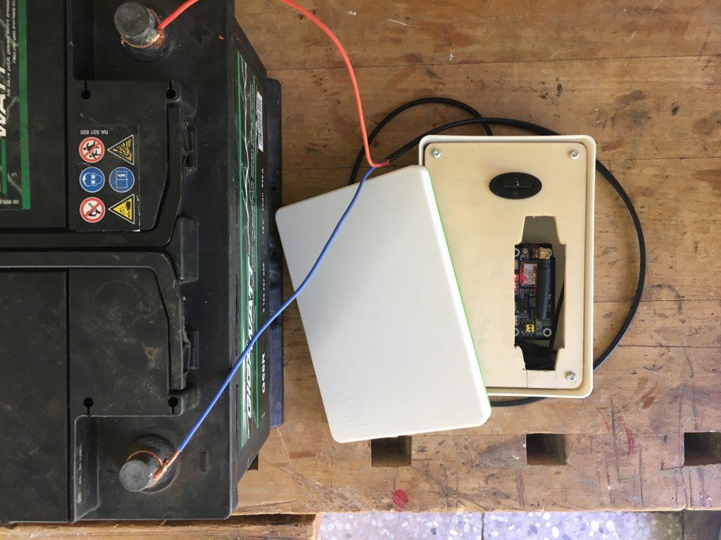 Unsere erste flygge Box