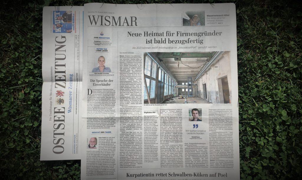 Was hat flygge denn mit Wismar denn zu tun?